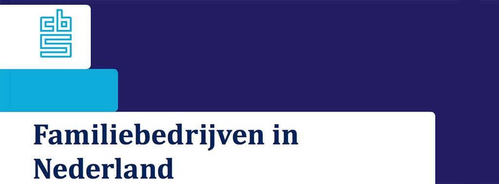 Familiebedrijven in Nederland - onderzoek CBS