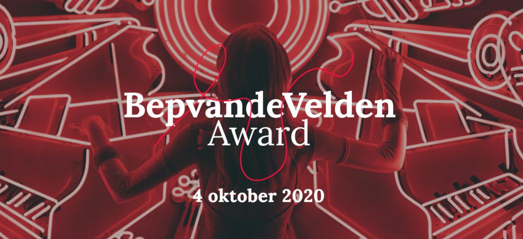 Bep van de Velden Award 2020